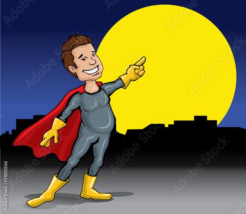 Deurstickers Superheroes Superhero