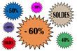 SOLDES   -60%   -50%  ....
