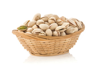 nuts pistachios in bowl