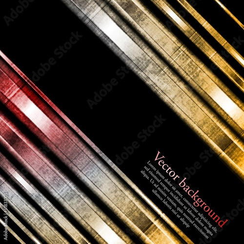 Grunge vector stripes background