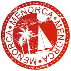 Stamp - Menorca, Spain