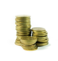 Stack of coin - money