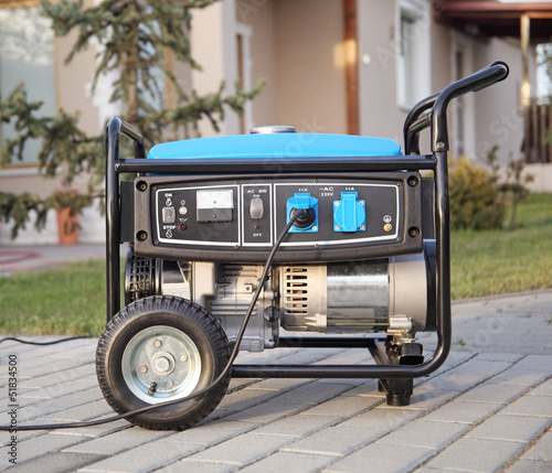 Portable electric generator. - 51834500