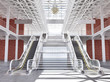 Stairs and escalators