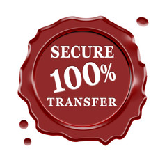 Secure Transfer Wax Seal