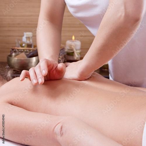 canvas print picture Traditionelle Thai-Massage