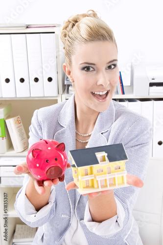 Immobilienmakler weiblich