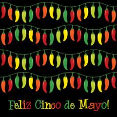 """""""Feliz Cinco de Mayo"""" (Happy 5th of May) card"""