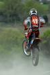 Le saut en motocross