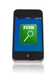 Smartphone Suche App