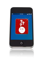 Smartphone mit Ratlos App