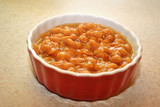 Canned Baked Beans in a Bowl
