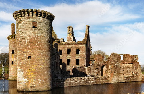 SW Tower, Caerlaverock Castle