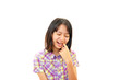 歯痛を訴える女の子