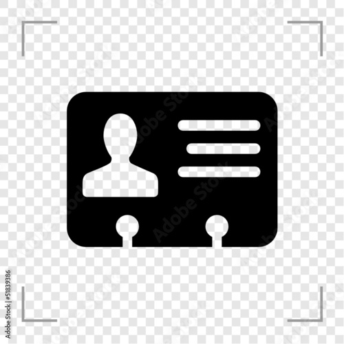 ID Card Icon
