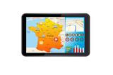Suivi par géolocalisation sur tablette