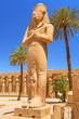 Statue of Ramesses II in Karnak temple in Luxor, Egypt