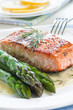 Salmon with Asparagus
