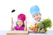 Chef kids ready to cook