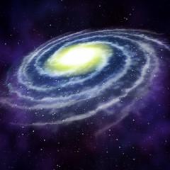 Galaxie, Nebel und Sterne