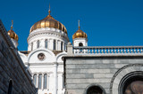 Cathedral of Christ the Savior in Moscow, Russia