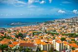 Fototapety Beautiful view of Funchal, Madeira Island, Portugal