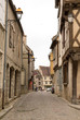 Rue du village de Noyers sur serein