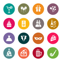 icons for party