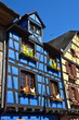 Timber frame house in Riquewihr, Alsace, France