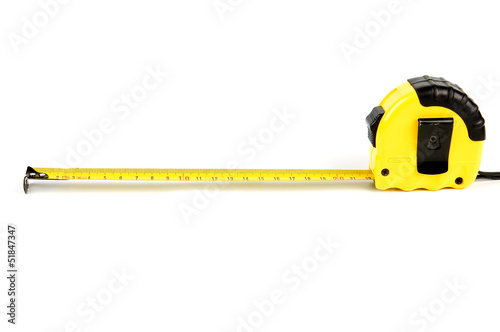 Measurement isolated on white background