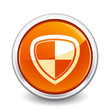 button orange shield