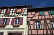 Timber frame houses in Riquewihr, Alsace, France