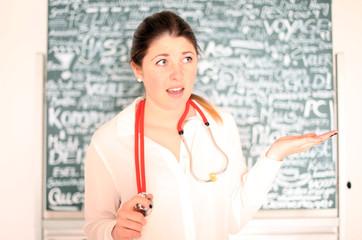 junge Ärztin
