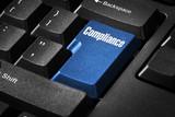 Tastatur  mit Compliance poster