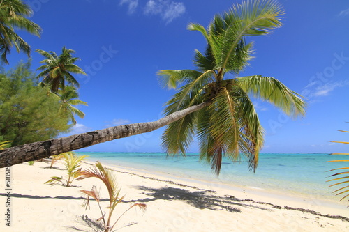 Tropical beach and island