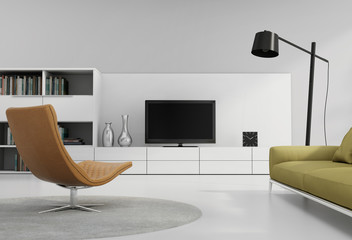 Contemporary tv wall furniture, entertainment in living room