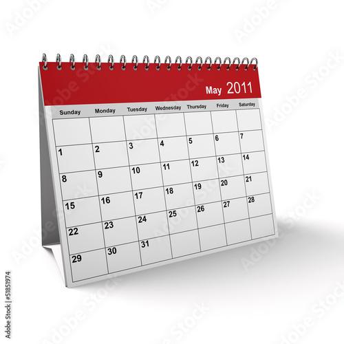 May 2011 Desktop Calendar