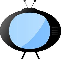 TV monitor, Comic Vetor