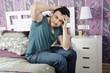 Headache in home bedroom