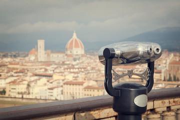 Vistas de la ciudad de Florencia, Italia