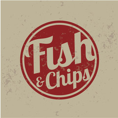 british fast-food - fish and chips