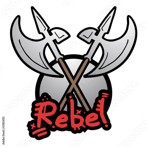 Rebel medieval weapon