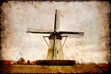 Retroplakat - Windmill