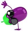 Fun eggplant