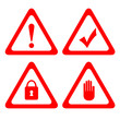 Vector protection signs