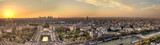 Paris Panorama at sunset