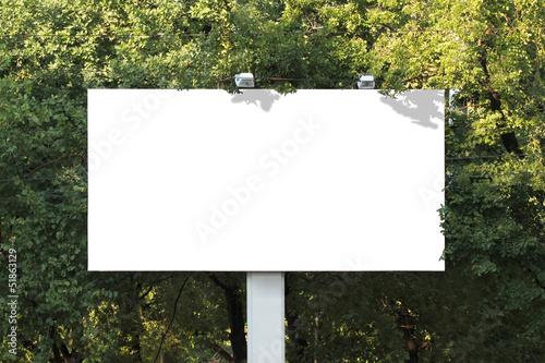 Empty billboard - 51863129