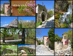 Carte Postale - Promenade à la Sainte-Victoire