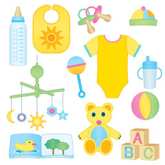 Baby related icons