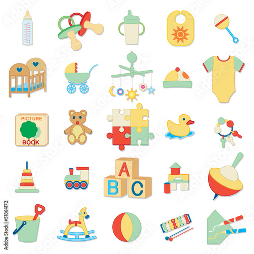 Kids related icons 2